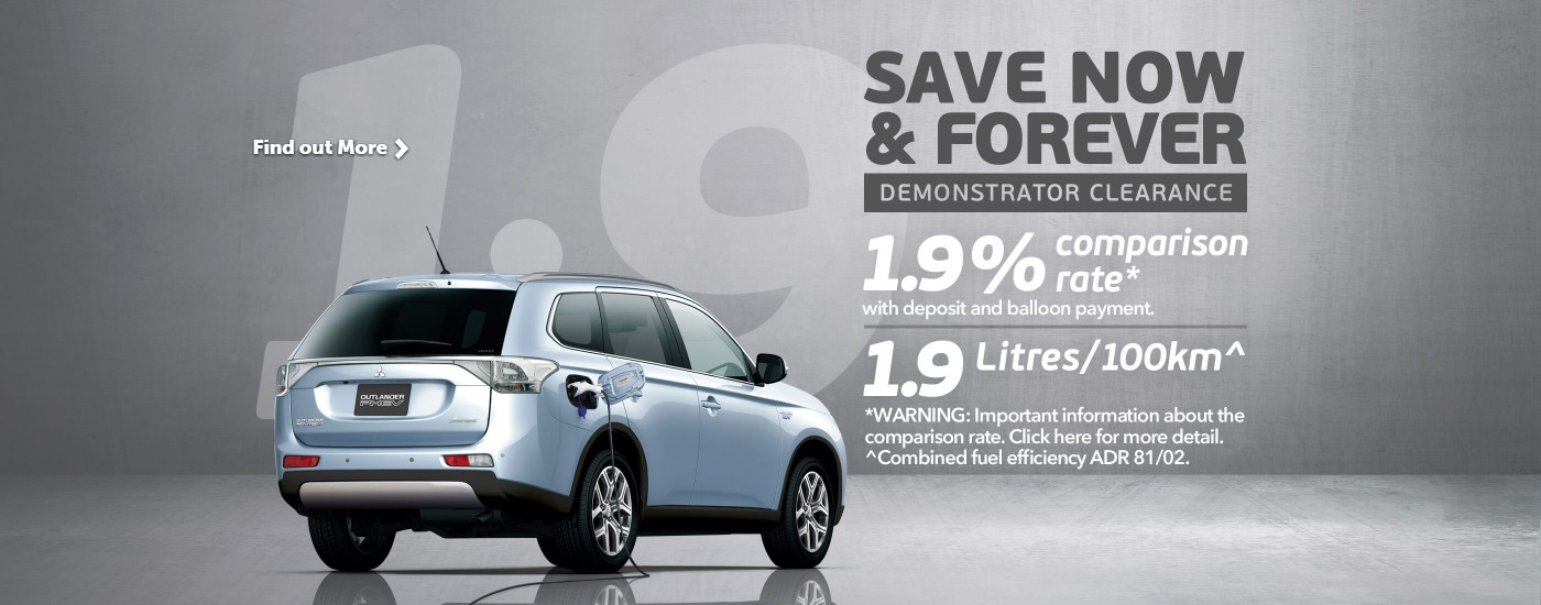 Mitsubishi PHEV Finance Offer
